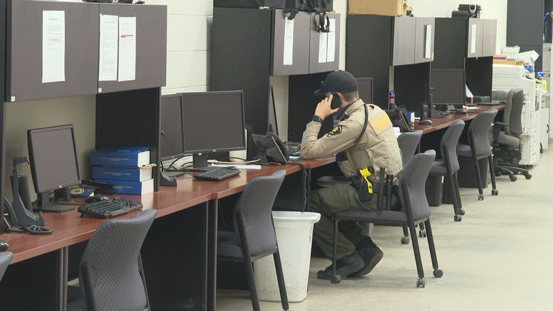 A deputy working on mental health crisis response in Clifton, Colo.