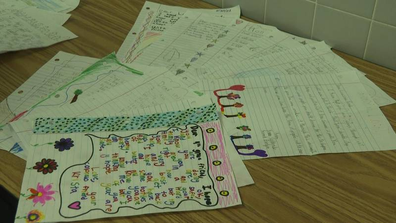 Letters from Appleton students