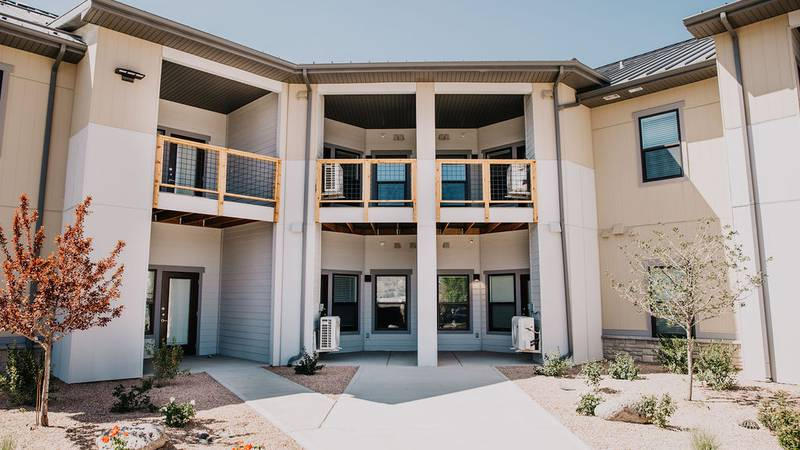 A brand new senior living development in Rifle that provides affordable housing for those 55...