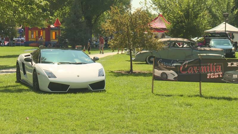 Carmilia car show festival
