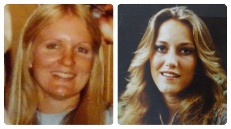 Left, Barbara Jo Oberholtzer and right, Annette Kay Schnee