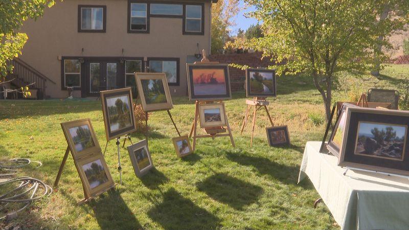 Local artists put on art show