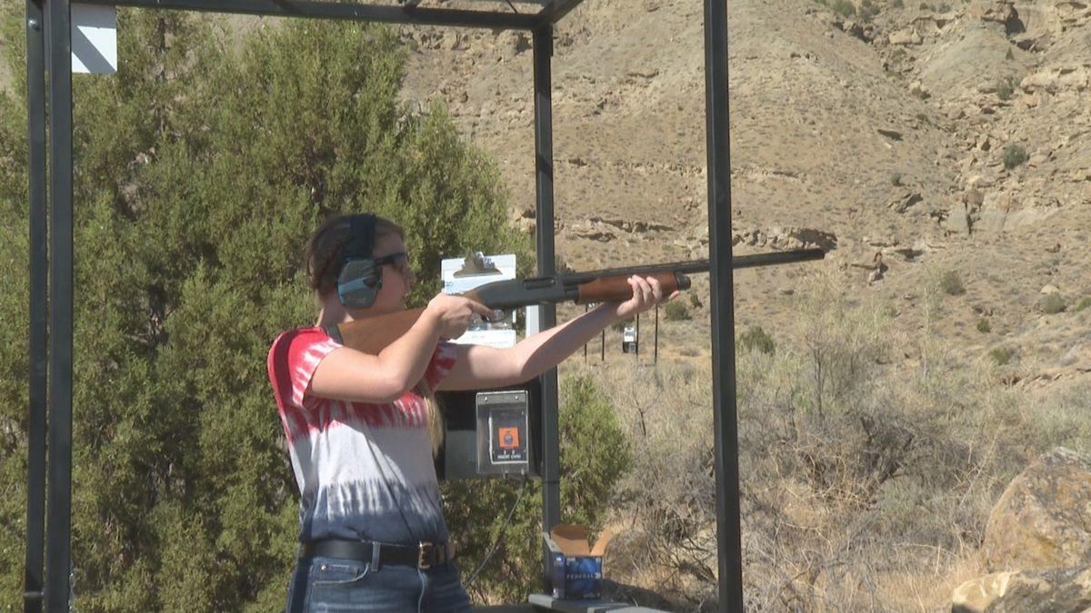 Women in media learn to shoot