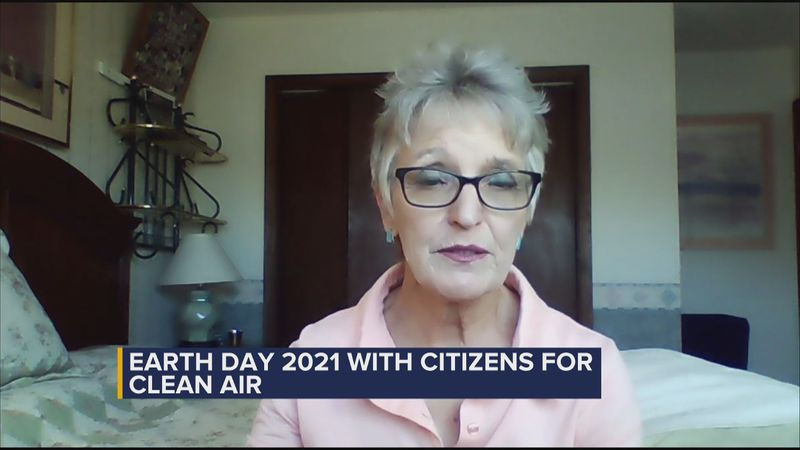 Kristin Winn from Citizens for Clean Air on ways to keep the air healthy.