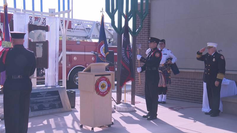 9/11 20th Anniversary Ceremony at GJFD