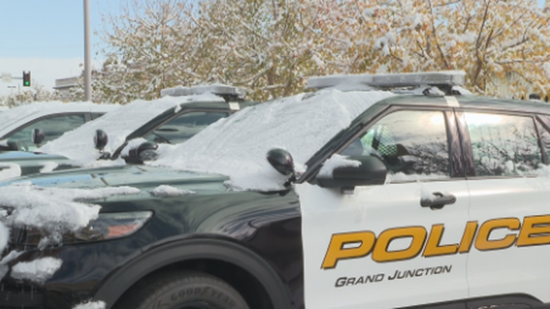 The Grand Junction PD responded to an accident on Riverside Parkway on Sunday morning