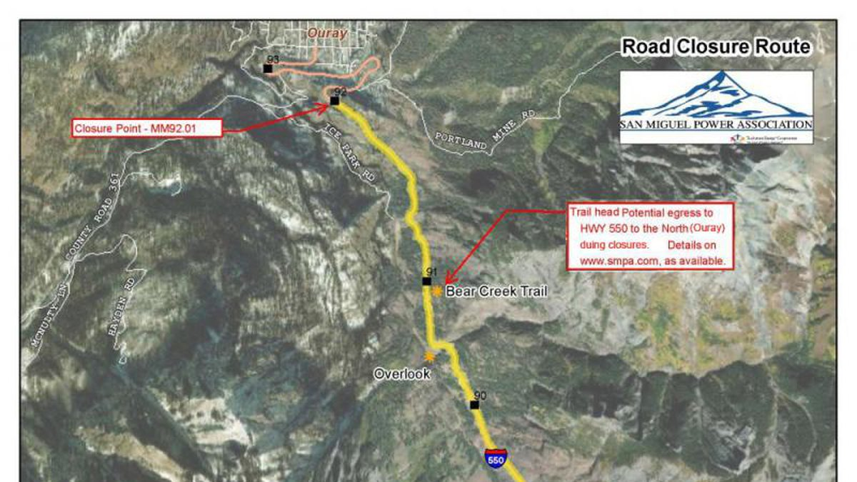 Red Mountain Pass Closure