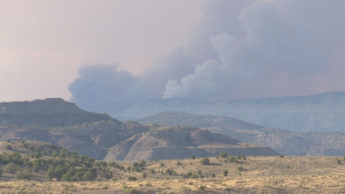 Smoke from the Pine Gulch Fire has been noticed across Colorado, but now its heavy in Rifle. This, as the fire approaches the 30,000 acre mark.