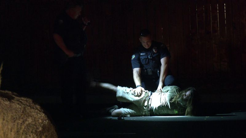 Dustin Foraker, 39, of Grand Junction was arrested Tuesday night after allegedly punching a...