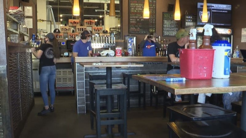 Many local breweries participated in the event throughout Mesa County.
