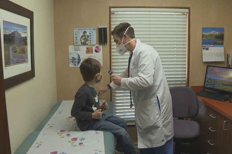 Dr. David Scott practices medicine in Grand Junction, Colo.