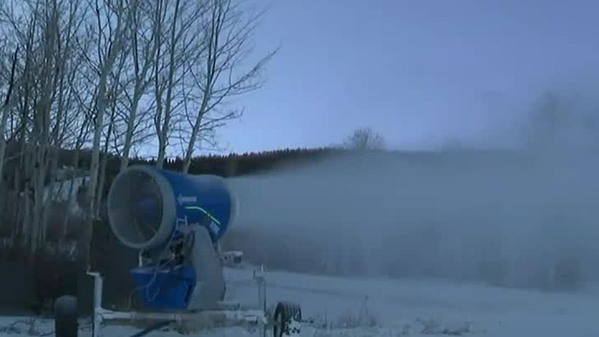 New snowmaking system