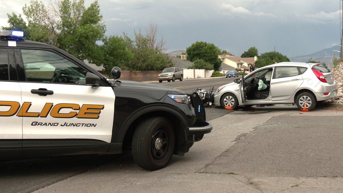 Investigation underway after motorcycle crash.