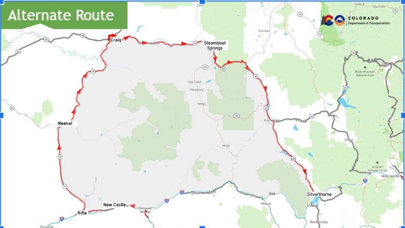 I-70 Alternate Route