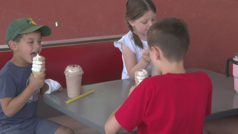 Free ice cream for vaccinated kids