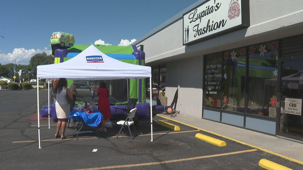 Representatives from lending, insurance, and real estate services were at the event to inform...