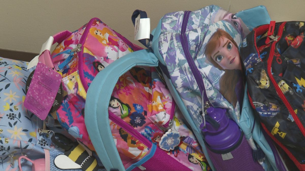 The Downtown Vineyard Church is giving out backpacks full of school supplies to kids ages 8-12.