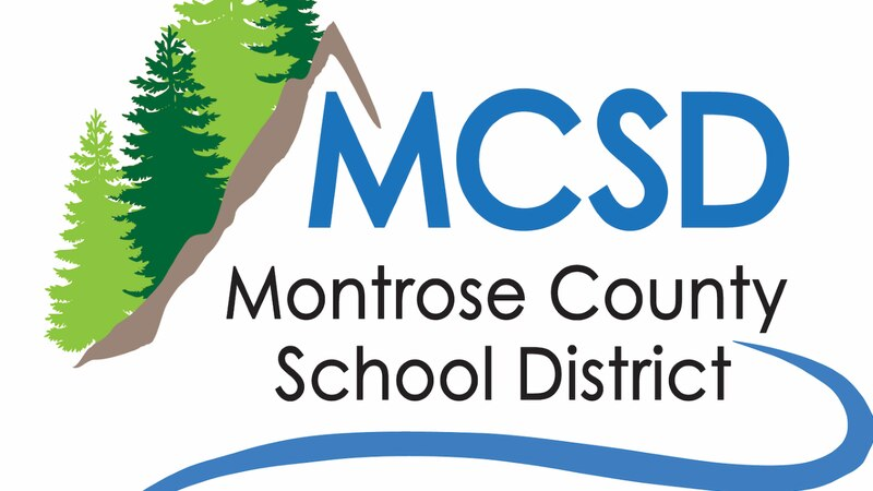 Montrose County School District Logo