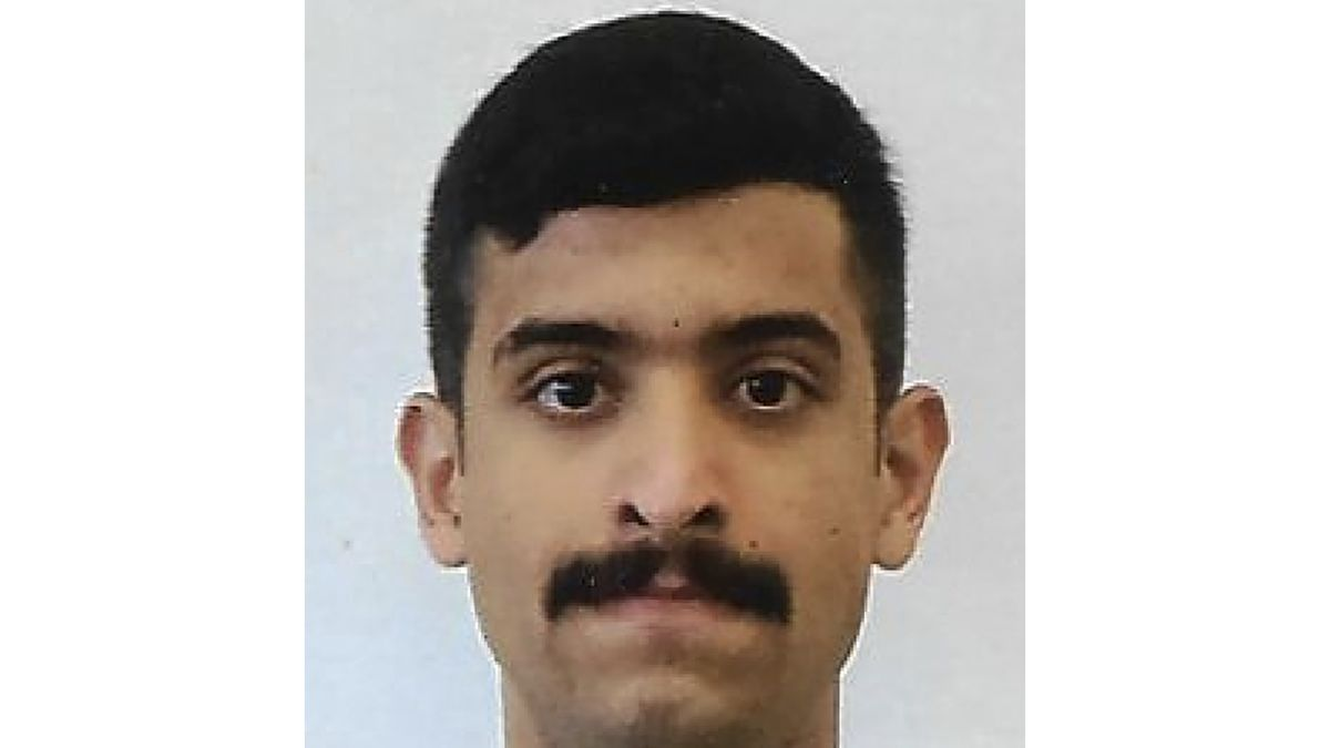 This undated photo provided by the FBI shows Mohammed Alshamrani. Victims of a 2019 shooting at...