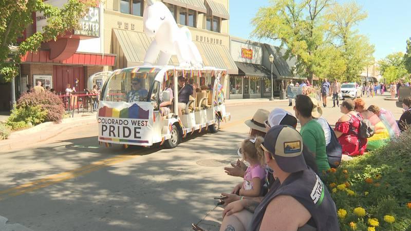 Colorado west pride parade