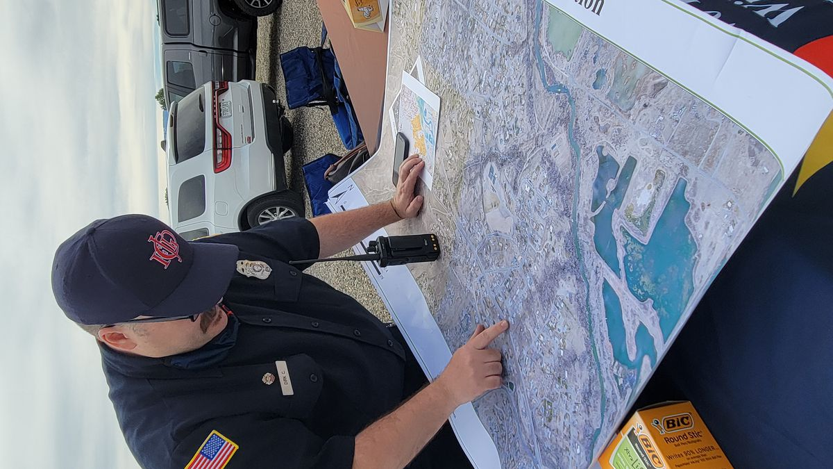 Mapping out fire route
