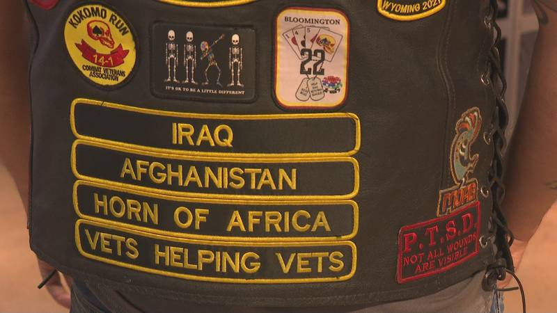 Indian Motorcycle shop hosts Veterans Charity Ride on its way to South Dakota.