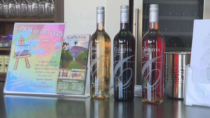 Family owned Colterris Winery opens both of their locations for year round tastings amidst...