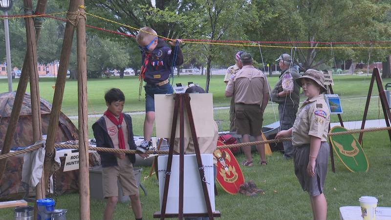 Boy Scout expo at Lincoln Park