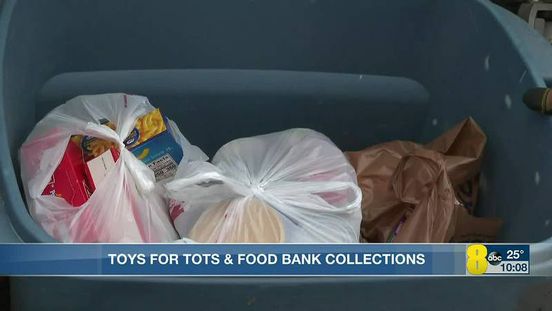 Toys for Tots and Food Bank Collections