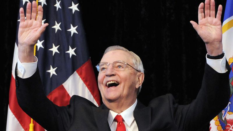 In an Oct. 30, 2012, file photo, former Vice President Walter Mondale, a former Minnesota...