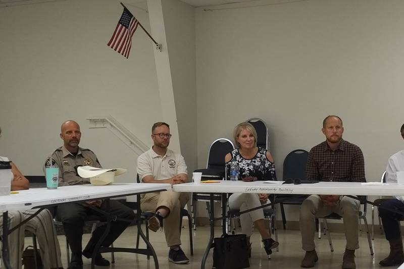 County Commissioners hold town hall meetings to hear from residents