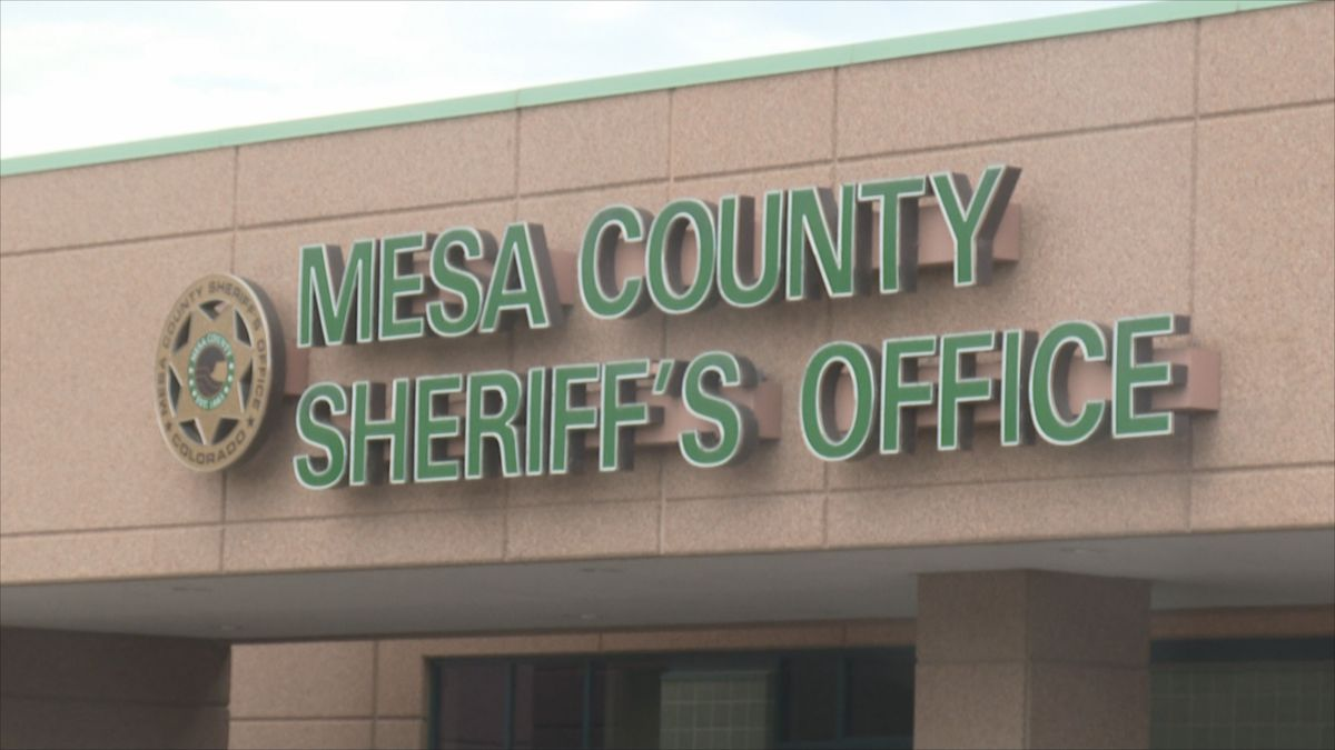 Mesa County Sheriff Dept. sign