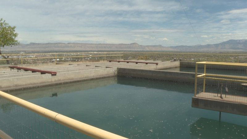 Grand Junction's water treatment facility.
