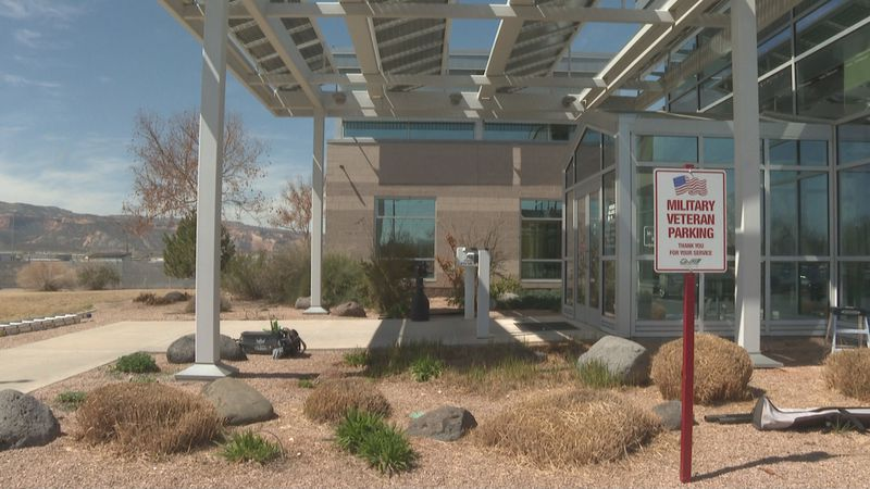 The entrance to Grand Valley Power's office in Grand Junction, Colo.