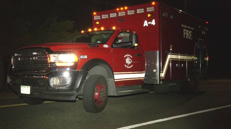 The Grand Junction Fire Dept. responded to the scene early Sun. morning.
