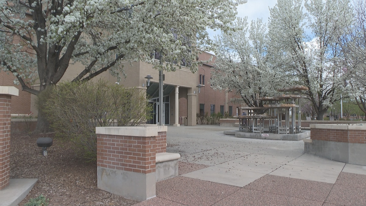 The outside of Grand Junction City Hall.