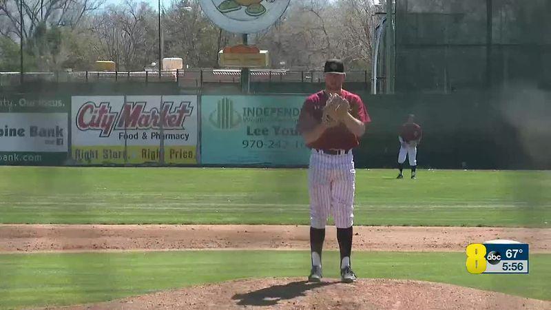 KJCT 8 News at 5:30 - VOD - clipped version- kjct baseball