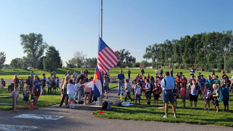 Two D51 schools held remembrance ceremonies in honor of the 20th anniversary of the 9/11 attacks.