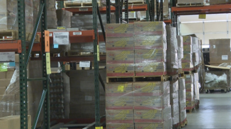 The last time  Food Bank of the Rockies saw record numbers was during the stay at home order in...