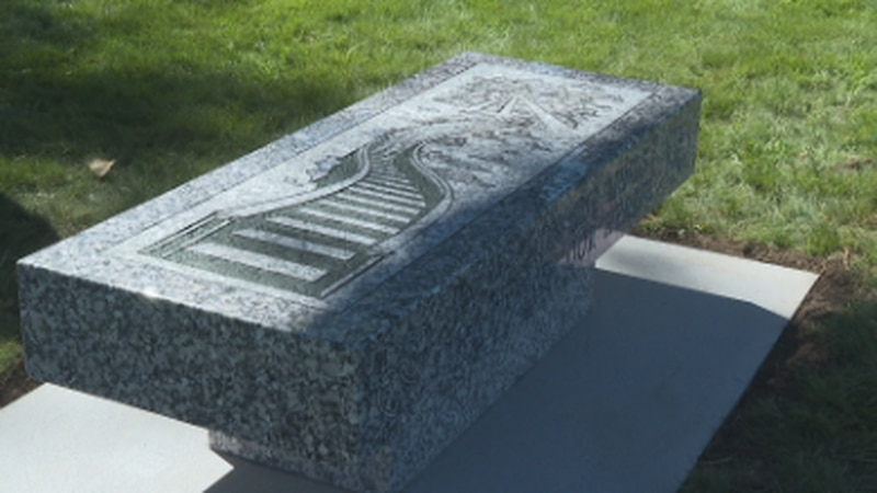 The families hopes to use the bench as a place to grieve, especially for those who don't know...