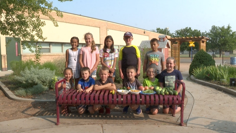 Orchard Avenue Elementary School holds The Garden Club