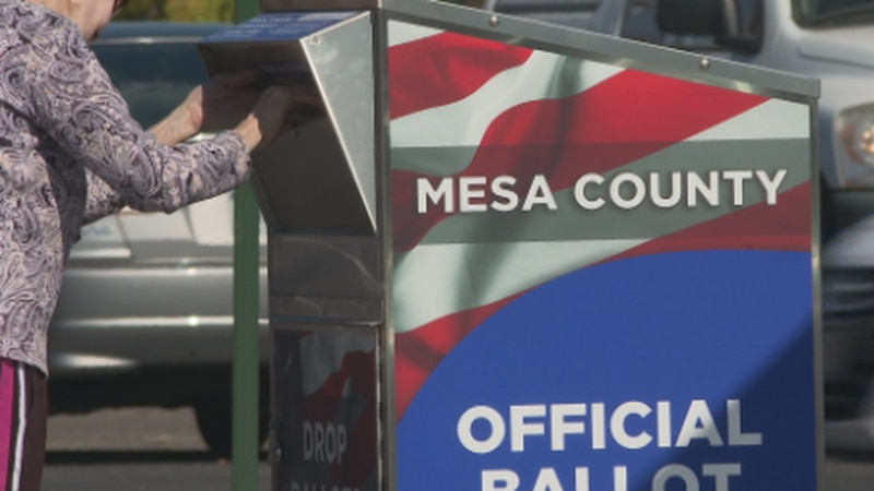 Election Day 2020 voting numbers were high across the nation yesterday--and Mesa County didn't...