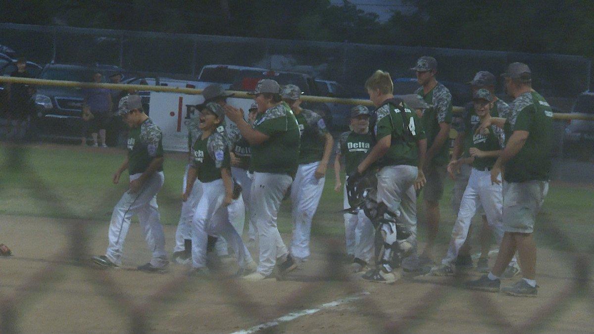Delta Little League wins the Majors regional championship