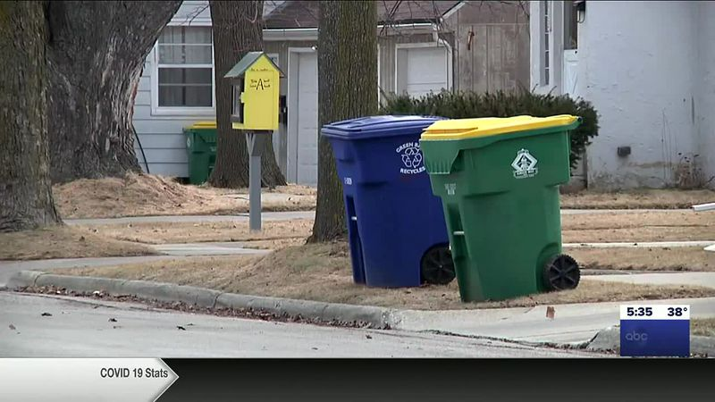 Green Bay's bulk item and trash pick-up week starts Monday
