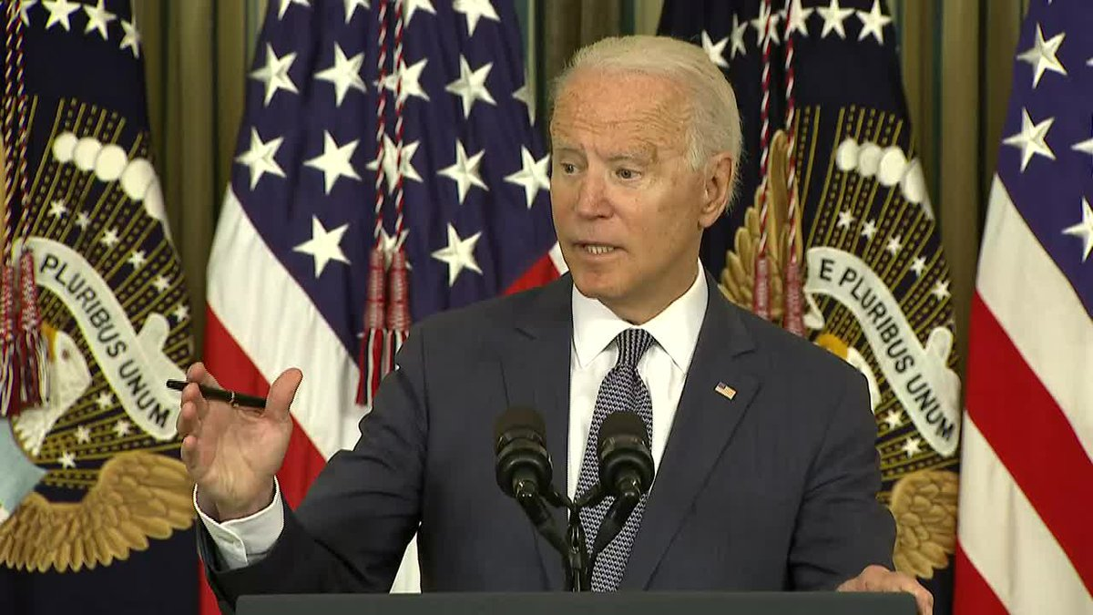President Joe Biden said Monday that his infrastructure and families agenda must be passed to...
