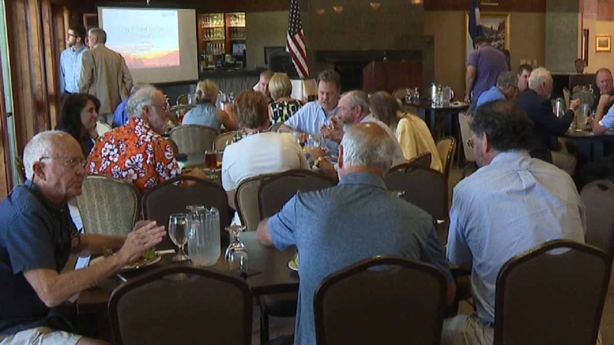 The Grand Junction Lions Club fulfills pledges to the community.