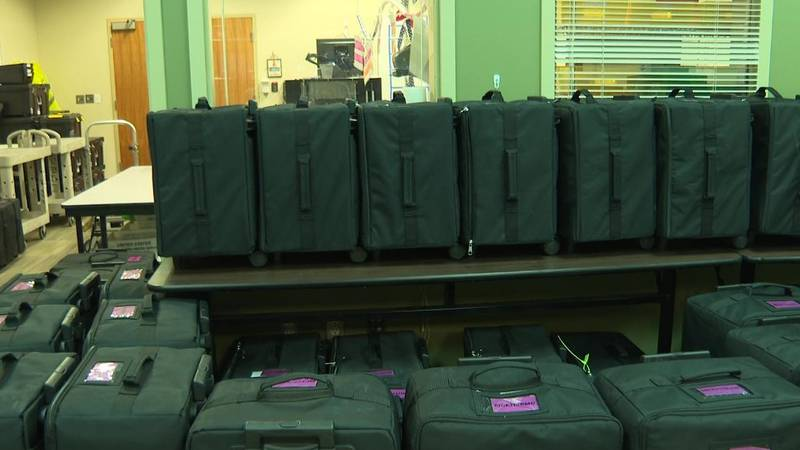 Election equipment arrives in Mesa County