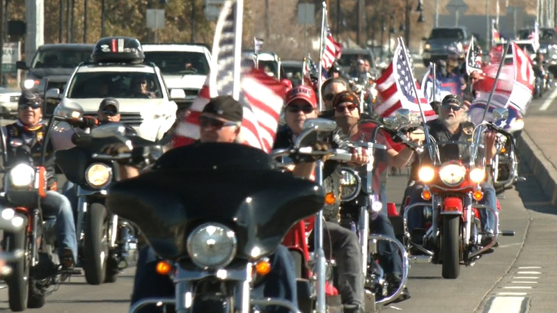 'Trump Cruise the Valley Rally'