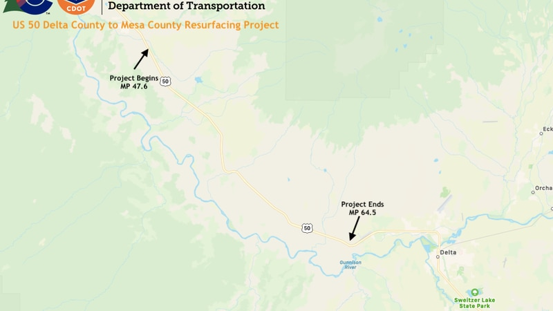Map of the project area
